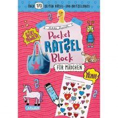 Pocket-Rätselblock - Für Mädchen