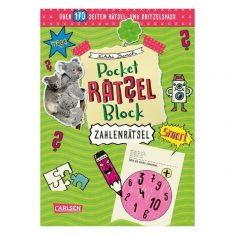 Pocket-Rätselblock - Zahlenrätsel