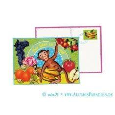 Postkarte - Das Leben ist süß!