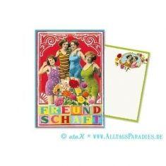 Postkarte - Freundschaft