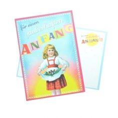 Postkarte - für einen zauberhaften Anfang