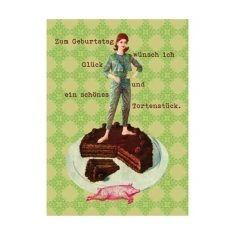 Postkarte - Geburtstagsgruß