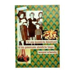 Postkarte - gewusst wie, Besinnliche Adventszeit