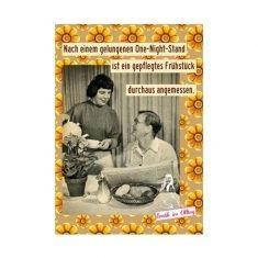 Postkarte - gewusst wie, One-Night-Stand