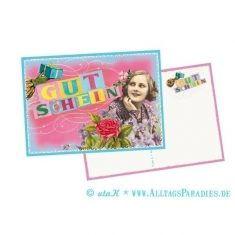 Postkarte - Gutschein