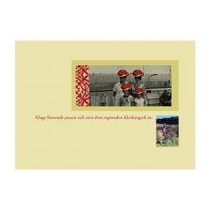 Postkarte - Kluge Reisende