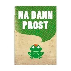 Postkarte - Na Dann Prost