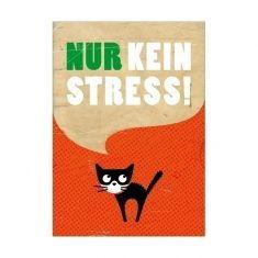 Postkarte - Nur kein Stress!