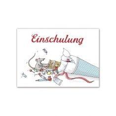 Postkarte - Schultüte