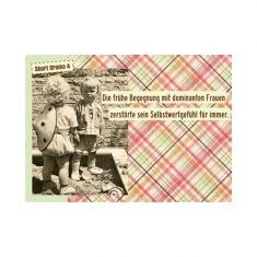 Postkarte - Short Drama 4, dominante Frauen