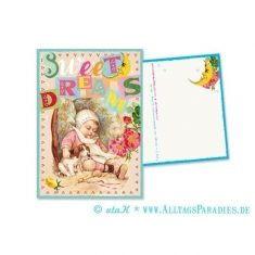 Postkarte - Sweet Dreams
