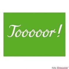 Postkarte - Tooooor