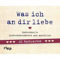 Postkarten-Set - Was ich an dir liebe, 20er-Set