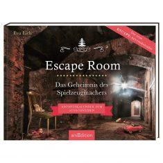 Adventskalenderbuch - Escape Room - Das Geheimnis des Spielzeugmachers