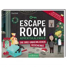 Adventskalenderbuch - Escape Room - Die drei unheimlichen Geschenke