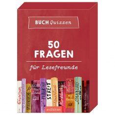 Buchquizzen - 50 Fragen für Lesefreunde