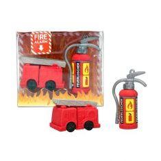Radiergummi - Fire Alarm, 2er-Set