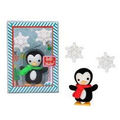 Radiergummi - Pinguin & Schneeflocke, 3er-Set