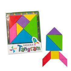 Radiergummi - Tangram, 7-teilig