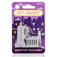 Radiergummis - City Erasers New York, 4er-Set
