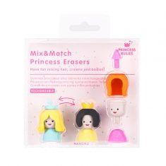 Radiergummis - Mix & Match Princess Erasers