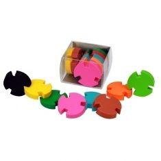 Radiergummis - Puzzle, 8er-Set
