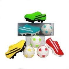 Radiergummis - Sportschuh & Fußball, 2er-Set