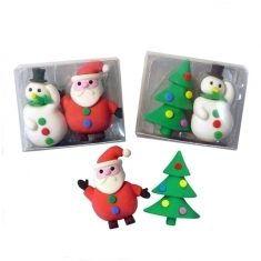 Radiergummis - Weihnachten, 2er-Set