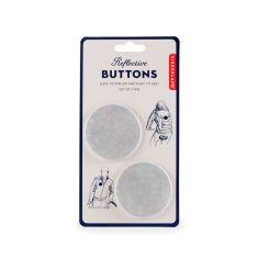 Reflektierende Buttons 2er-Set