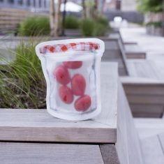 Zipper-Beutel - Marmeladenglas, 4er-Set