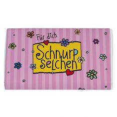 Schoko-Täfelchen - Für Dich Schnurpselchen