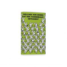 Schoko-Täfelchen für's Hirn - Tannenbaum tragen