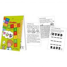 Spieleblöckchen - Kinder-Worträtsel
