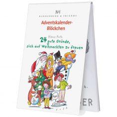 Adventskalenderblöckchen - 24 gute Gründe, sich auf Weihnachten zu freuen