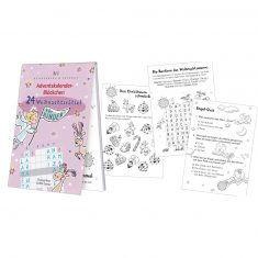 Adventskalenderblöckchen - Weihnachtsrätsel für Kinder