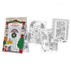 Adventskalenderblöckchen - 24 Türen bis Weihnachten