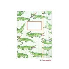 Sammelmappe - Krokodil, DIN A4