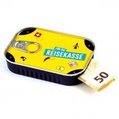 Sardinendose - Für die Reisekasse
