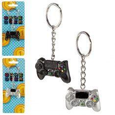 Schlüsselanhänger - Gamecontroller, Game Over