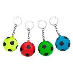 Schlüsselanhänger - Knautsch-Fußball, Power Now!