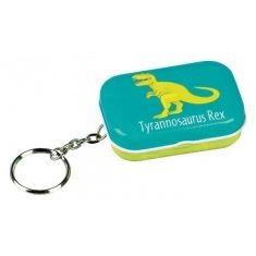 Schlüsselanhänger mit Radiergummi - Dino