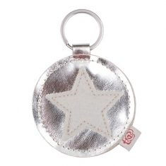 Schlüsselanhänger - Star, silber