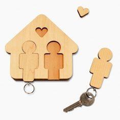 Schlüsselbrett - Home Sweet Home, Mann & Mann