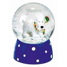 Schneekugel - Schneegestöber