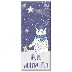 Schoko - Frohe Weihnachten, Eisbär