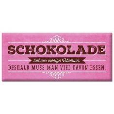 Schoko - Schokolade hat nur wenige Vitamine...
