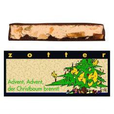 Schokolade - Advent, Advent, der Christbaum brennt