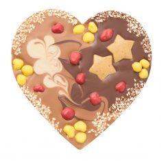 Schokolade Mi-Xing - Herz mit Zimtfüllung