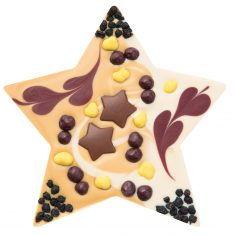 Schokolade Mi-Xing - Stern mit Nougatfüllung