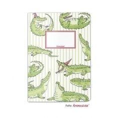 Schreibheft - Krokodil, DIN A5